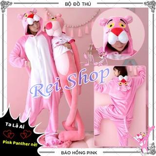 Bộ Đồ Thú Hình Báo Pink Panther – Cosplay Báo Pink Panther