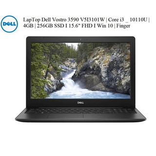 "LapTop Dell Vostro 3590 V5I3101W i3-10110U | 4GB | 256GB SSD I 15.6"" FHD I Win 10 