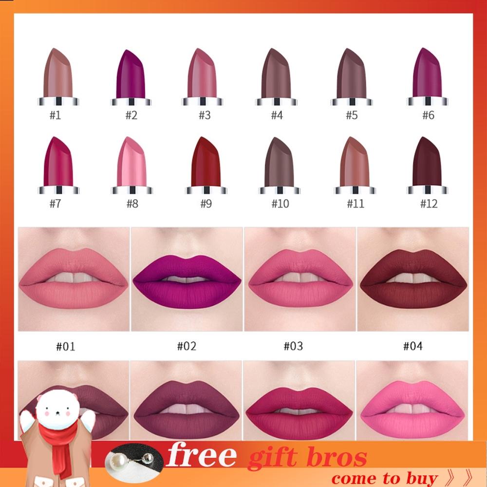 HANDAIYAN Waterproof Long Lasting Lipstick Velvet Non-Stick Cup Lips Matte Lipstick Makeup Lip Gloss Lip - 14285148 , 2728518975 , 322_2728518975 , 38875 , HANDAIYAN-Waterproof-Long-Lasting-Lipstick-Velvet-Non-Stick-Cup-Lips-Matte-Lipstick-Makeup-Lip-Gloss-Lip-322_2728518975 , shopee.vn , HANDAIYAN Waterproof Long Lasting Lipstick Velvet Non-Stick Cup Lip