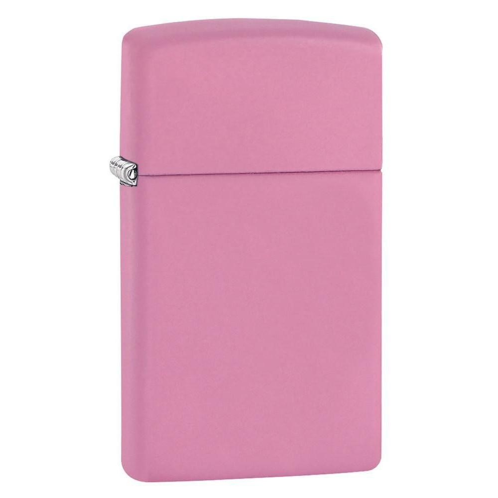 Bật Lửa Zippo Slim Pink Matte 1638 - Hàng Chính Hãng