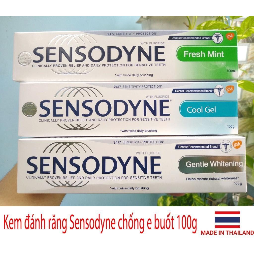 Kem đánh Răng Sensodyne 100g Thơm Mát Giảm Ê Buốt Bảo Vệ Toàn Diện