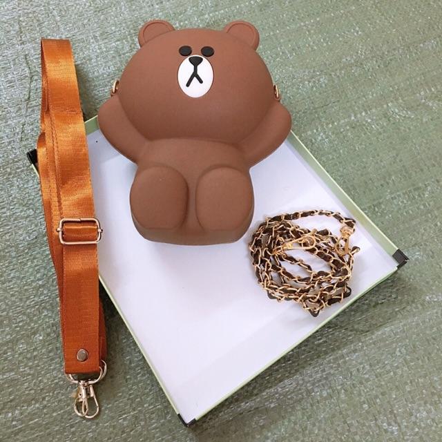 Túi Brown mini hangg loại1