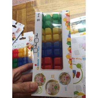 Đồ chơi xếp hình bằng nhựa mềm Co- block loại 10 miếng ghép/hộp