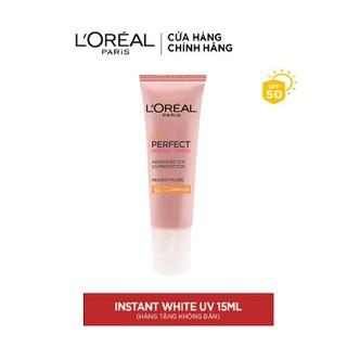 KEM CHỐNG NẮNG L'OREAL PARIS INSTANT WHITE MINI 15ML