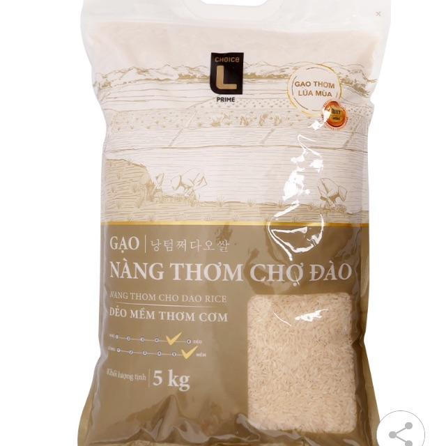 Gạo Nàng Thơm Chợ Đào Choice L (CL) 5 KG