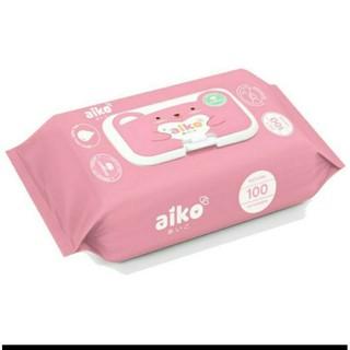 Khăn giấy ướt Aiko không mùi 100 tờ