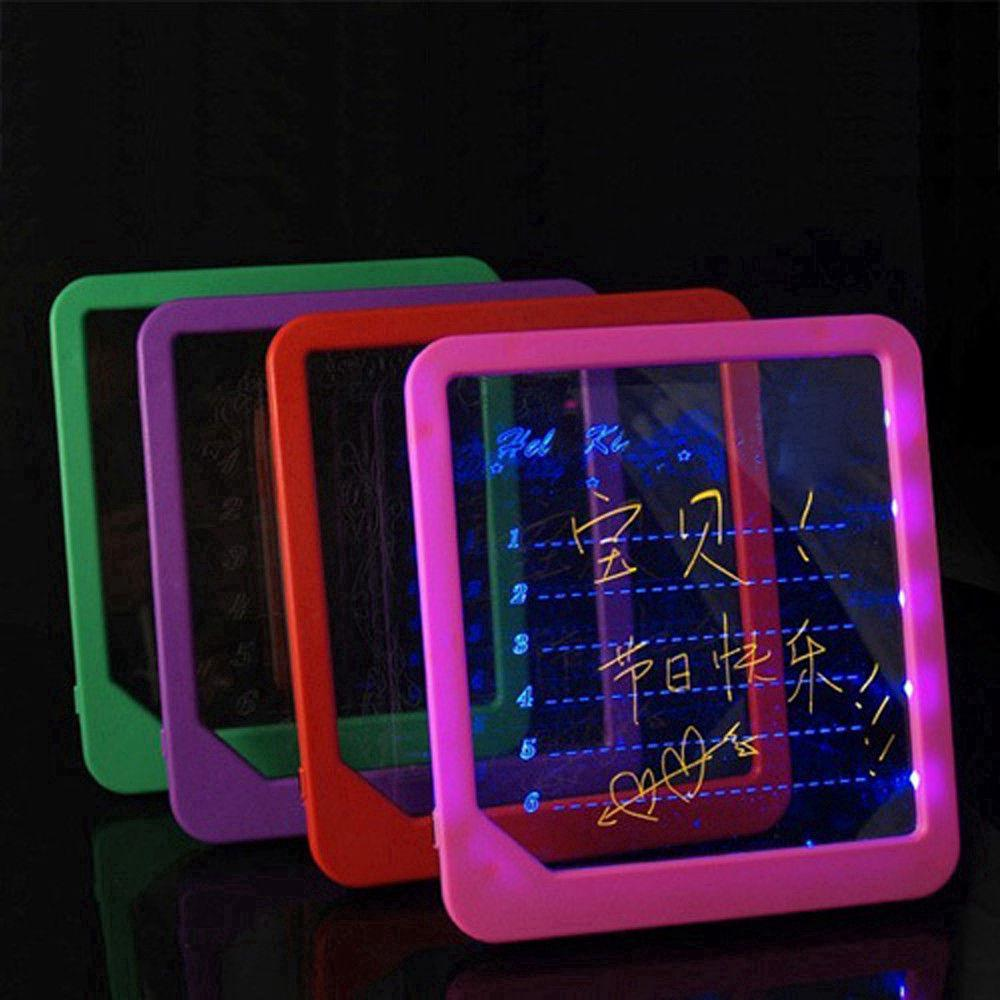 LED Board Light Up Drawing Writing Special Puzzle Education Toy Gift