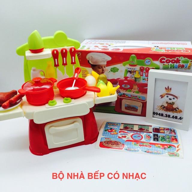 Bộ đồ chơi nhà bếp có nhạc - 3440826 , 769964116 , 322_769964116 , 195000 , Bo-do-choi-nha-bep-co-nhac-322_769964116 , shopee.vn , Bộ đồ chơi nhà bếp có nhạc