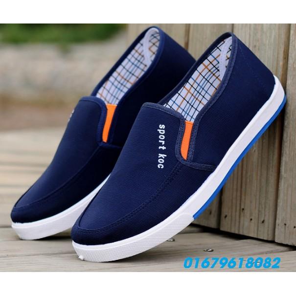 giày nam thời trang, giày lười Male model Hàn quốc mới HNN284