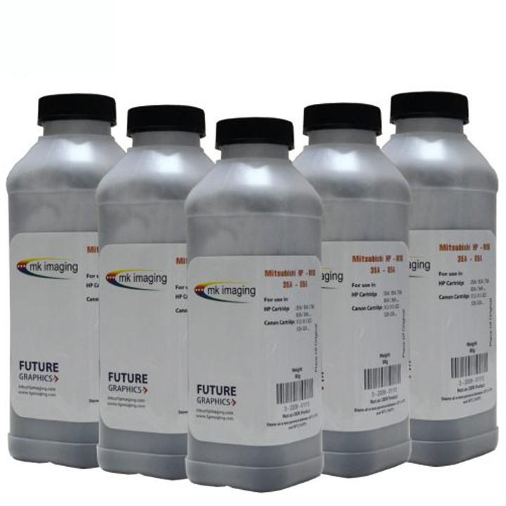 10 chai Mực nạp 35A 85A cho máy in HP P1102, M12A, M15A, M28A Canon 6030, 6230 3050  đậm, ít thải