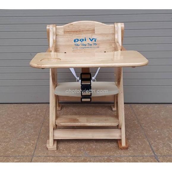 Ghế ăn dặm gỗ Đại Vĩ (Có dây bảo hiểm + bàn ăn dặm) - 3328541 , 647717787 , 322_647717787 , 750000 , Ghe-an-dam-go-Dai-Vi-Co-day-bao-hiem-ban-an-dam-322_647717787 , shopee.vn , Ghế ăn dặm gỗ Đại Vĩ (Có dây bảo hiểm + bàn ăn dặm)