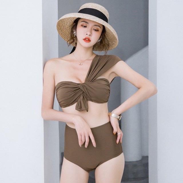 Bikini 2 mảnh vạt vai điệu [ CÓ SẴN ]