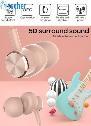 【Fast Delivery】 In-Ear Wired Earphone Sport In-Ear Earphone Music Earphone Is Suitable For High Quality Wired Earphone For Samsung 【te】