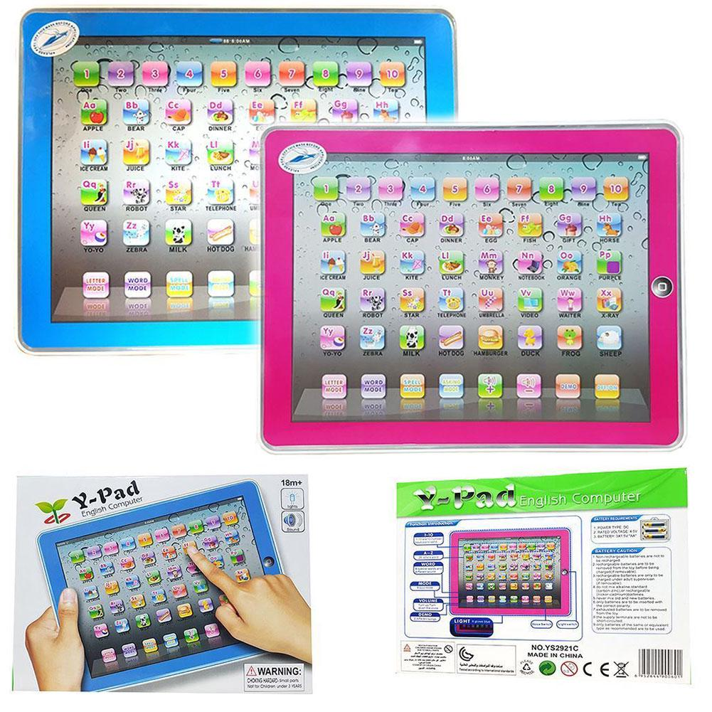 Gift Tablet Alphabet Electronic Computer Baby Study English Letters Learning Machine Early Educational For 1-6 Years