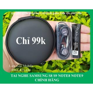 [Nhập mã LUUG136 chỉ còn 99k FREESHIP] Tai Nghe AKG S8 Note 8 Note 9 chính hãng + Hộp Đựng Chất + Cây chọc Sim thumbnail