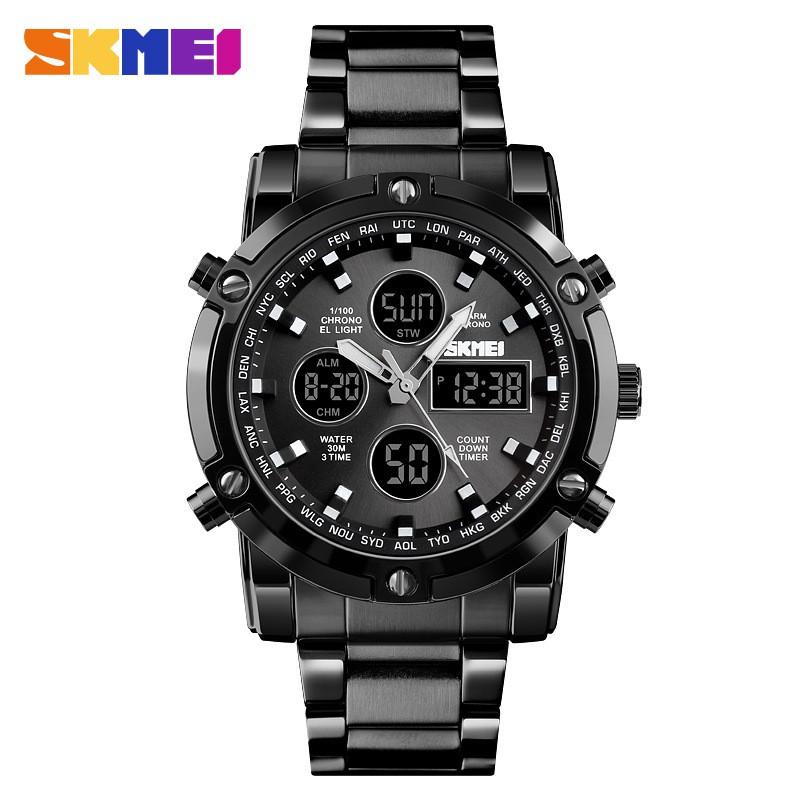 Đồng hồ điện tử Skmei đa năng chống nổ chống thấm nước thời trang cho nam