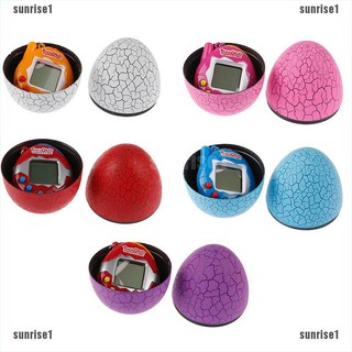 {sunrise}Kids Electronic Virtual Pet Machine Egg Toys Cracked Eggs Cultivate Game Machine[sun]
