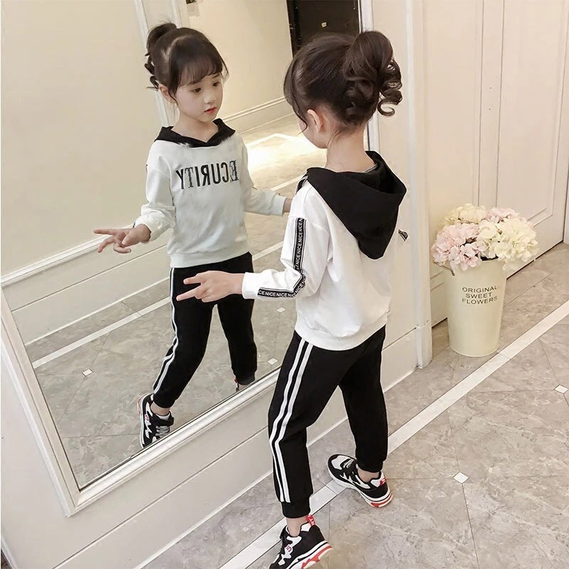 Bộ quần áo thể thao in chữ security cho bé trai và bé gái qate111 - 3273554 , 1308198445 , 322_1308198445 , 70000 , Bo-quan-ao-the-thao-in-chu-security-cho-be-trai-va-be-gai-qate111-322_1308198445 , shopee.vn , Bộ quần áo thể thao in chữ security cho bé trai và bé gái qate111