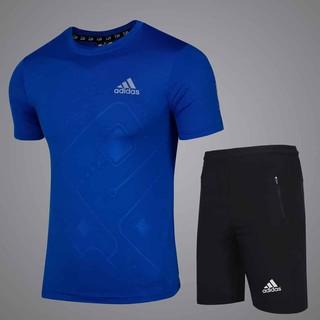 Tặng quần sịp – Bộ thể thao nam vân nổi cao cấp thun lạnh co giãn 4 chiều hàng xuất dư