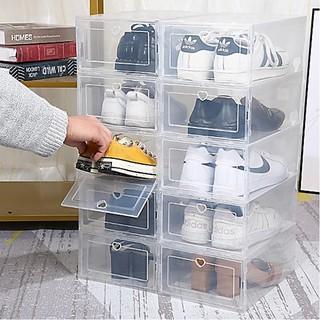 Hộp đựng giày nhựa cứng trong suốt tiện ích