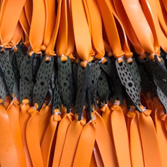 [Hàng chính hãng – Rẻ vô địch] 10 bộ dây thun ná cao su siêu bền 1 Lớp loại dây dẹt dày 1.2mm