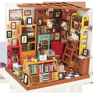 Mô hình nhà búp bê I-DIY – hiệu sách nhỏ theo phong cách HANABUSA