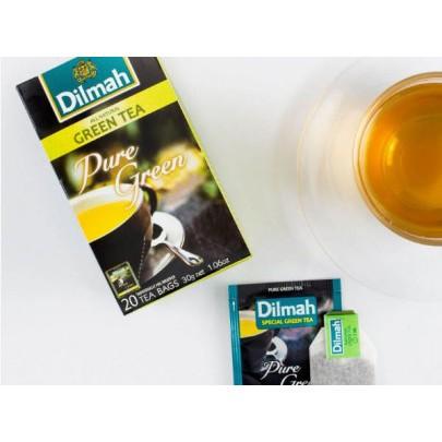 Hộp Trà xanh Dilmah hộp giấy 30g (20 small bag 2g/box)