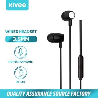 Kivee MT26 Tai nghe jack cắm 3.5mm dài 1.2m chất lượng cao thumbnail