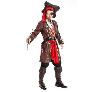 trang phục hóa trang cướp biển vùng caribbean