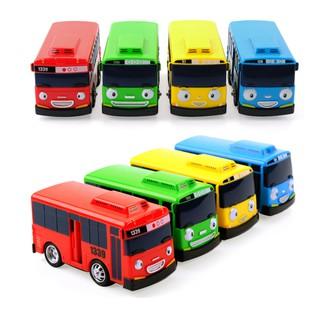 Bộ 4 xe ô tô buýt Tayo chạy cót đồ chơi trẻ em