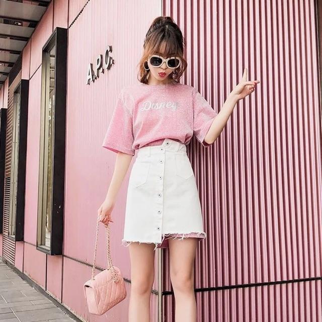 Set áo phông disney mix chân váy trắng - 2735568 , 1218158864 , 322_1218158864 , 340000 , Set-ao-phong-disney-mix-chan-vay-trang-322_1218158864 , shopee.vn , Set áo phông disney mix chân váy trắng