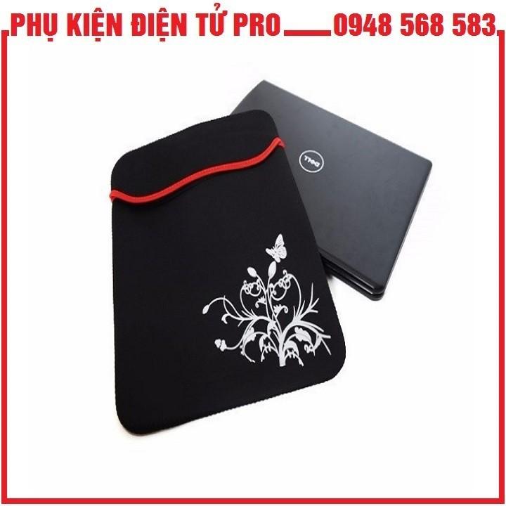 Túi Chống Sốc Hoa Văn Cho Macbook Pro 14 Inc - Túi Chống Sốc Laptop