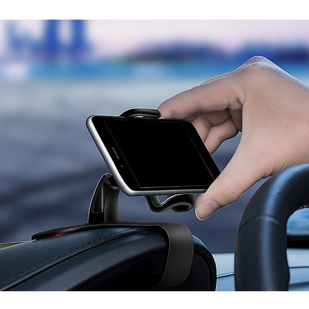 Giá Đỡ điện thoại xoay 360 trên ô tô,Gắn Trên Bảng Điều Khiển 360 ° Khung Kẹp Có Thể Xoay Ổn Định Chống Sốc ( cc1 )