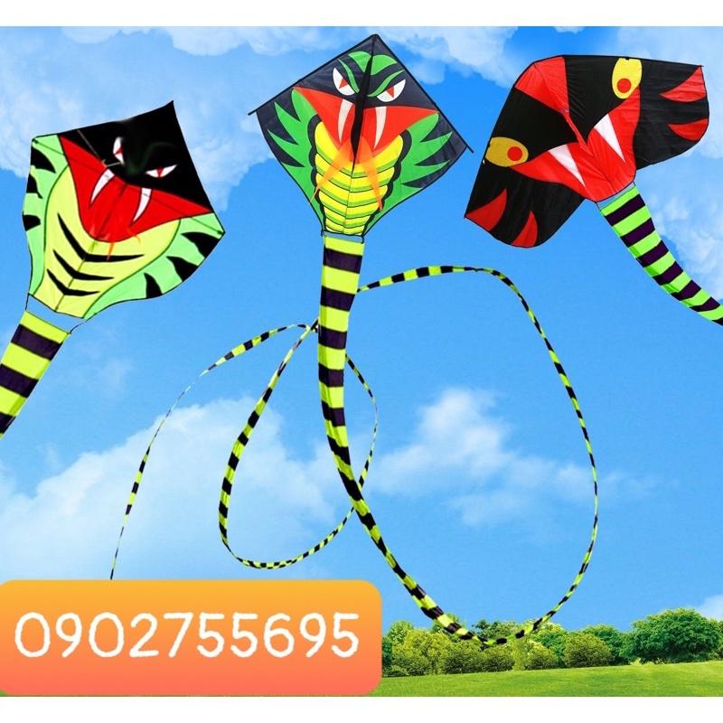 [MUA 1 ĐƯỢC 2] Diều rắn - Tặng tay cầm thả diều 150m dây + túi vải đựng ( diều đẹp, diều thả, shop diều giá rẻ )