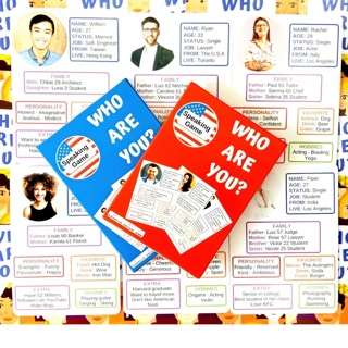 Game Who are you – game bạn là ai!!