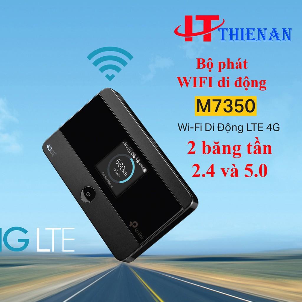 [Nhập ELCLMAY hoàn 30K xu đơn từ 200K]TP-Link M7350 – Wifi Di Động 4G LTE-Advanced – HÀNG CHÍNH HÃNG Giá chỉ 1.217.000₫