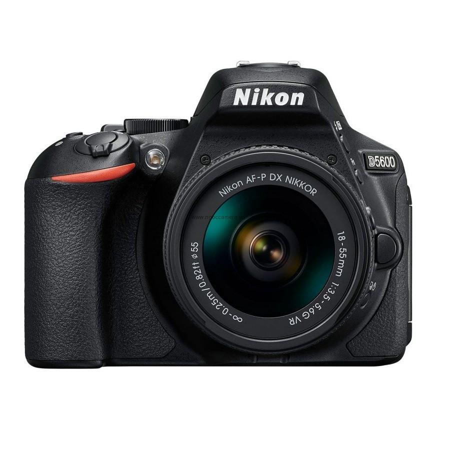 Nikon D5600 kit AF-P 18-55 VR II (Mới 100%) (Hàng chính hãng VIC-VN bảo hành 1 năm toàn quốc)