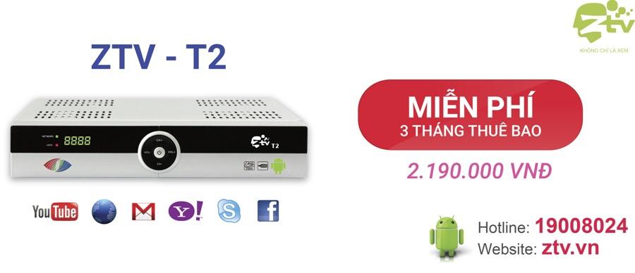 Android tv box VTC ZTV vừa DVB T2 vừa là box Android tv | Bigomart info