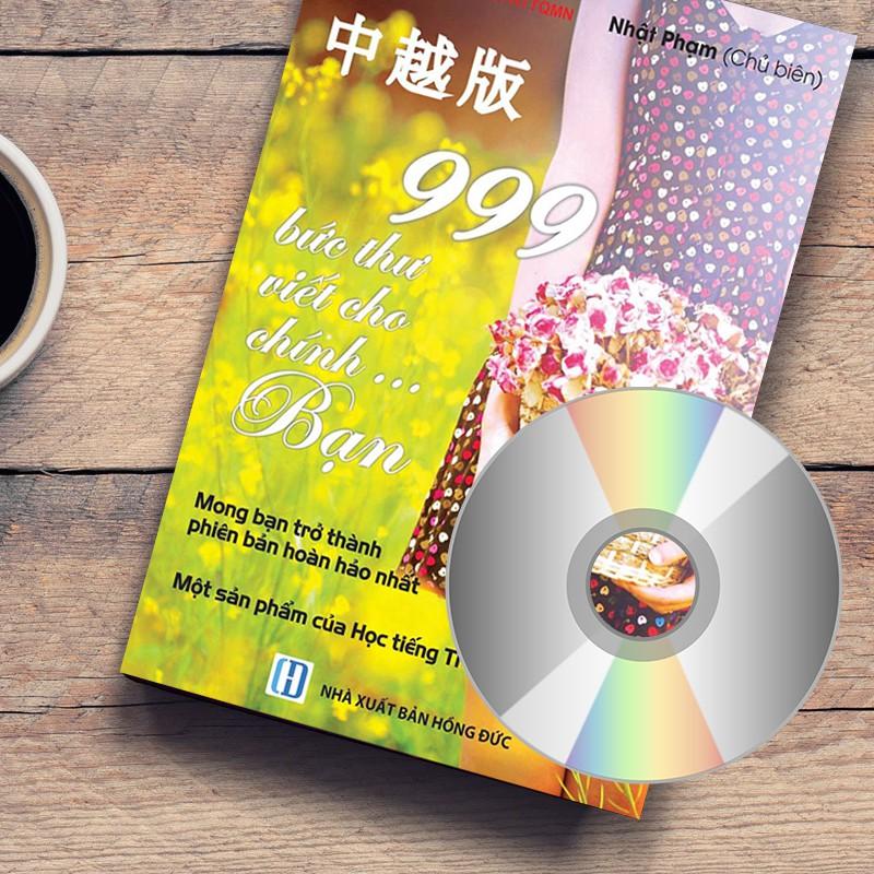 SÁCH - 999 Bức Thư Viết Cho Chính Bạn Bản Quyền Chính Thống (có AUDIO nghe, quà tặng)