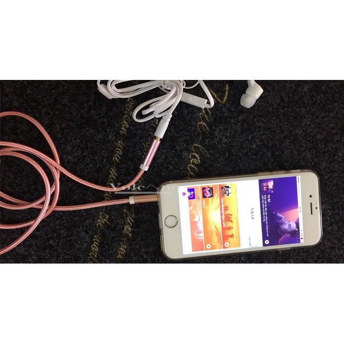 Cáp nối dài tai nghe Audio 3.5mm - 2685609 , 192362830 , 322_192362830 , 128000 , Cap-noi-dai-tai-nghe-Audio-3.5mm-322_192362830 , shopee.vn , Cáp nối dài tai nghe Audio 3.5mm