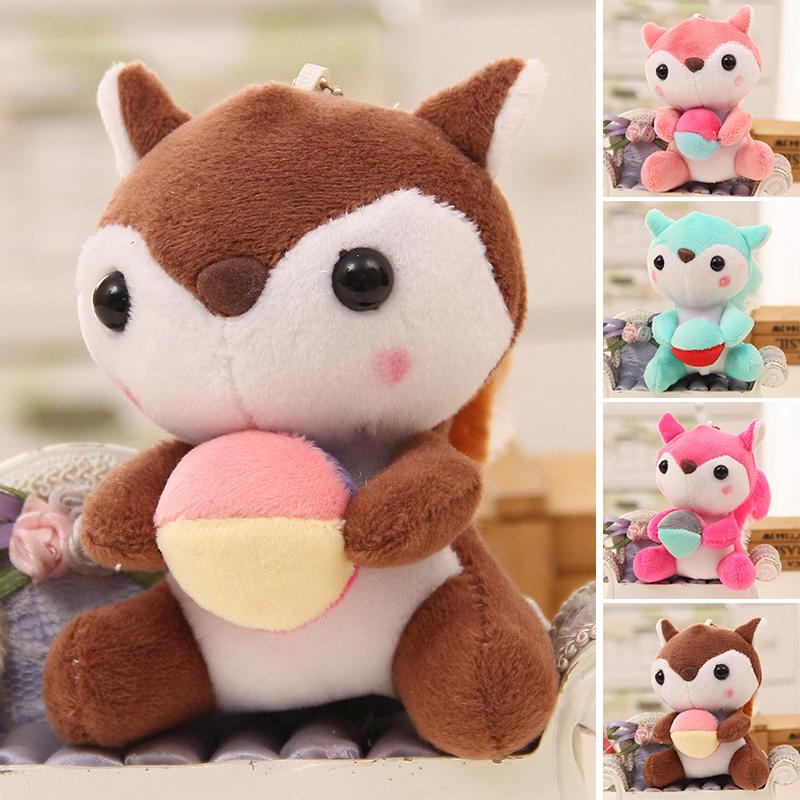 Cute Animal Soft Plush Toy Mini Squirrel Stuffed Animals Doll Baby Kids Gift