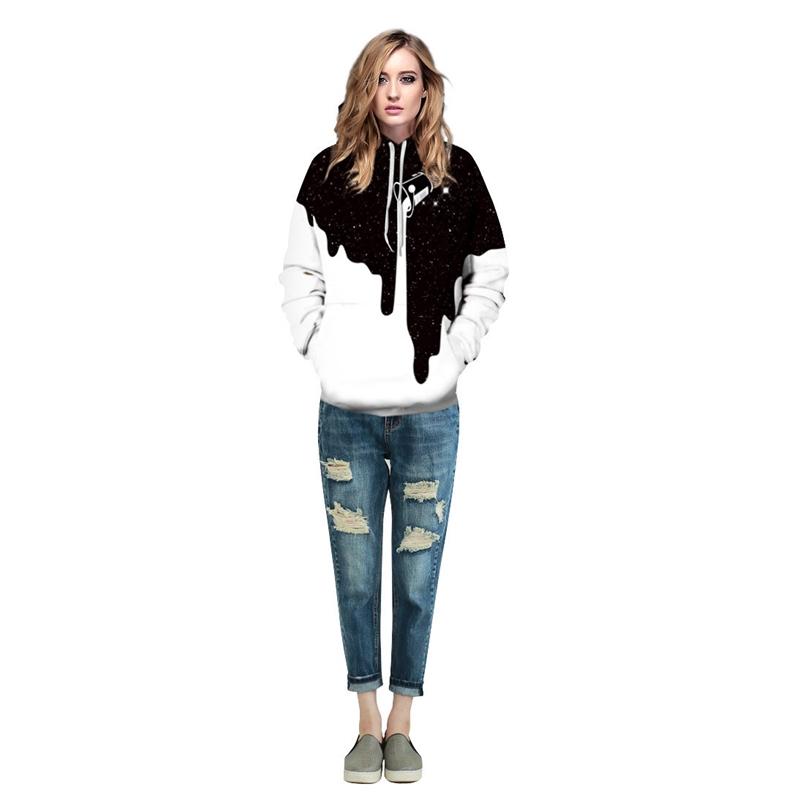 Áo hoodie dài tay in họa tiết 3D thời trang cá tính dành cho cả nam và nữ