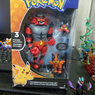 Mô hình pokemon_Tomy USA Litten Evolutons.