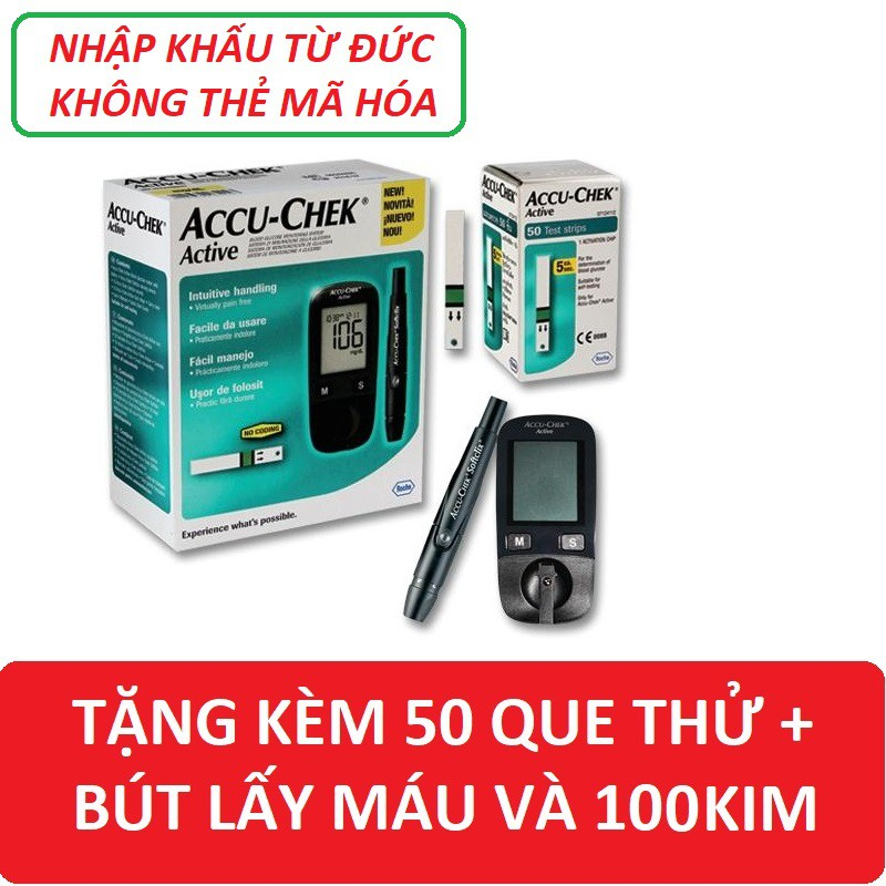 Máy đo đường huyết Accu Chek