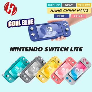 Máy chơi game Nintendo Switch Lite 5.5 32GB Gray Yellow Turquoise Coral Cool Blue Pokemon - Hàng Chính hãng thumbnail