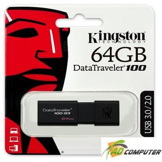 USB KINGSTON 64G 3.0 DT100G3 Chính Hãng