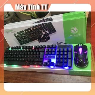 Bàn phím chơi game giả cơ LIMEIDE GTX300 Led 7 màu - TẶNG KÈM CHUỘT GAME CỰC CHẤT- Máy Tính TT thumbnail