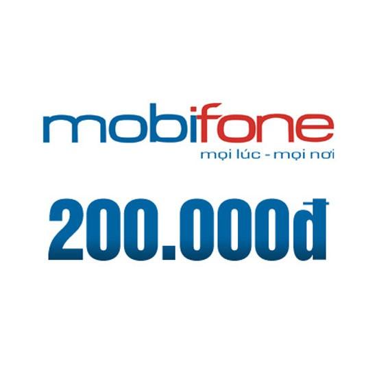 Thẻ Mobifone 200K , Thẻ cào Mobifone , Thẻ nạp Mobifone , Thẻ cào Mobi , Nạp tiền Mobifone , nạp tiề