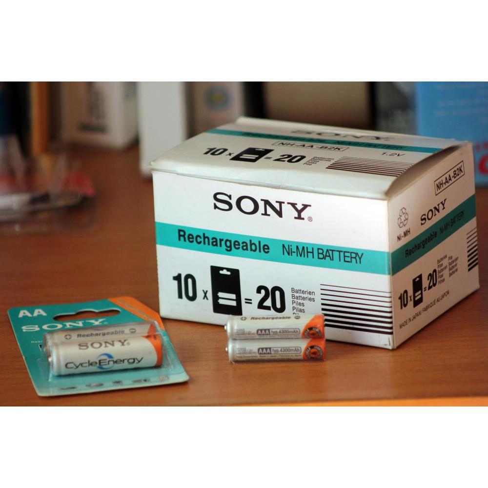 [SALE 10%] Pin sạc AA, 2A Sony 4.600mAh 1 vỉ 2 viên