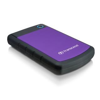 Ổ cứng di động Transcend Rugged StoreJet 25H3P USB 3.0 (màu tím)